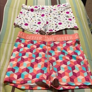 Girls Stretch Shorts.  EUC!